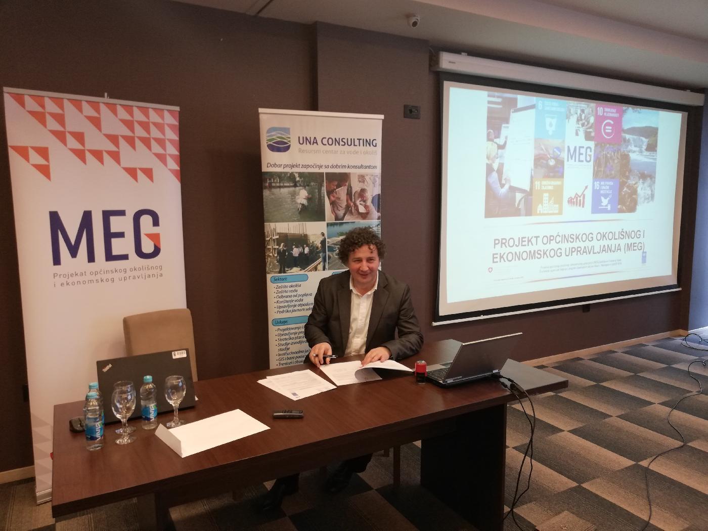 Potpisani ugovori za nastavak pružanja konsultantskih usluga u sklopu MEG projekta